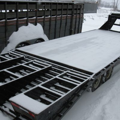 Used Tandem Axle Utility Trailers