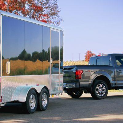 Aluma Enclosed Snowmobile Trailers