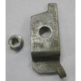 Dexter 12-1/4in x 2-1/2in Trailer Brake Replace. Actuator Arm Hold Down Bracket Right Side