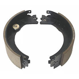 Dexter 12-1/4in X 3-3/8in Trailer Brake Shoes and Lining Kit Right Side
