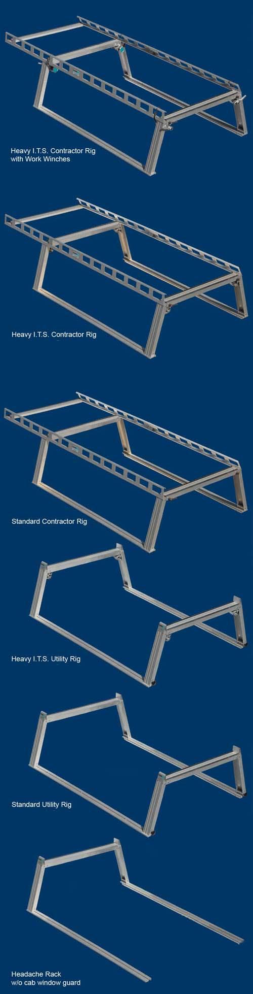 System One Ladder Racks - Davis Trailer World   Sales