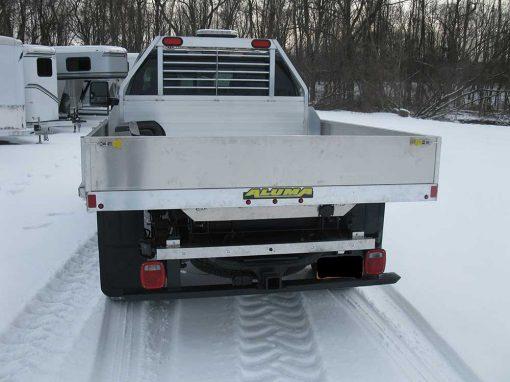 Custom truck dump body